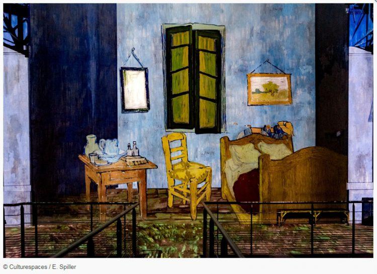 Wejdź Do Wnętrza Obrazów Malowanych Van Gogha Magazine