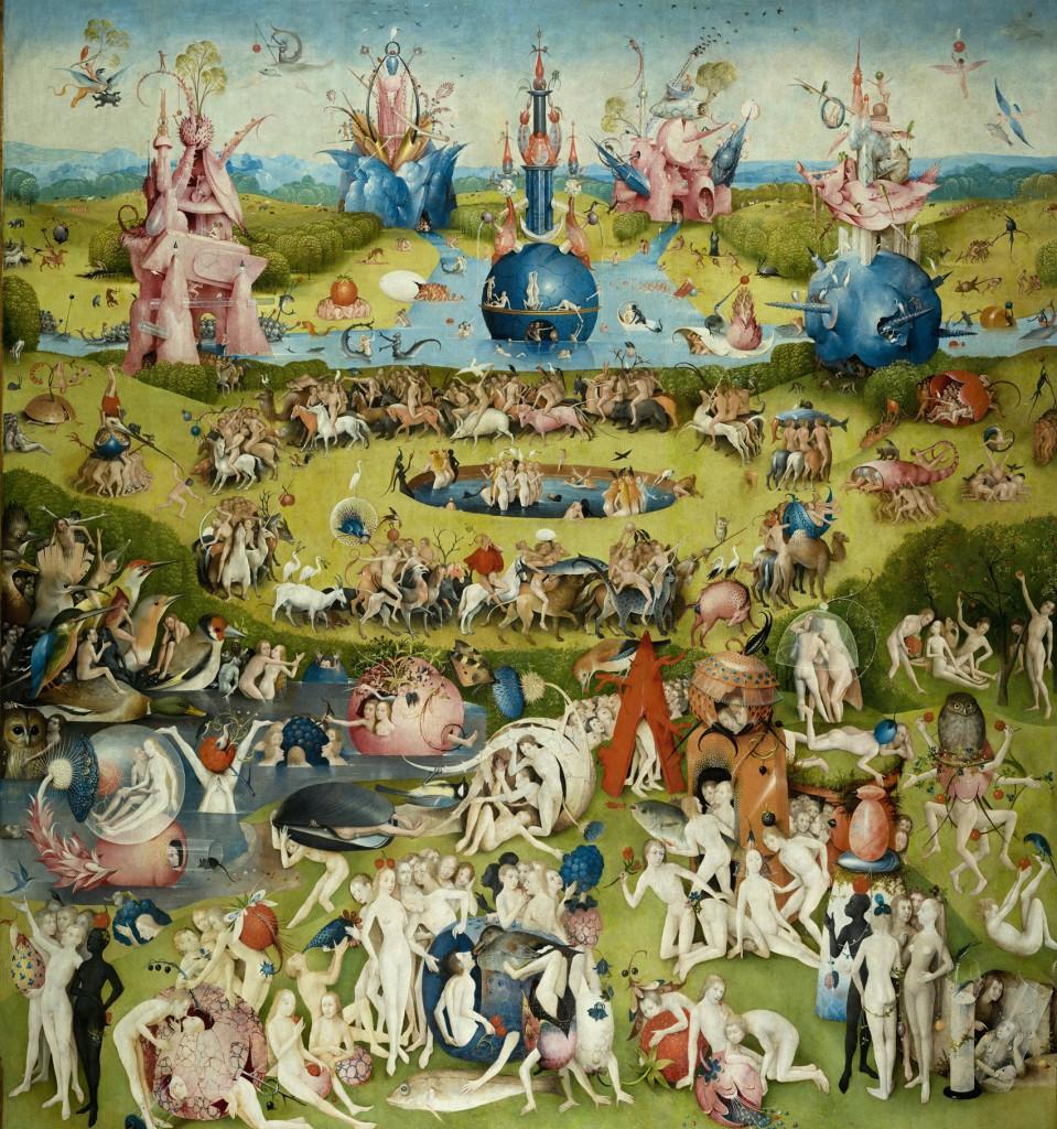 Obrazy malowane Boscha na dużym ekranie - Magazine Art In House