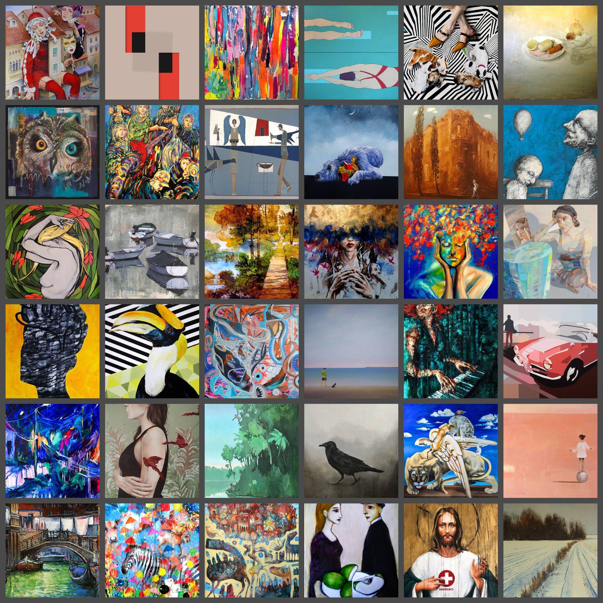 38 aukcja nowej sztuki, dom aukcyjny, wyniki, styczen 2020