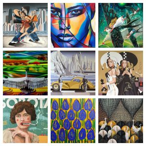 We have new records! 46. Auction of New Art at Art in House