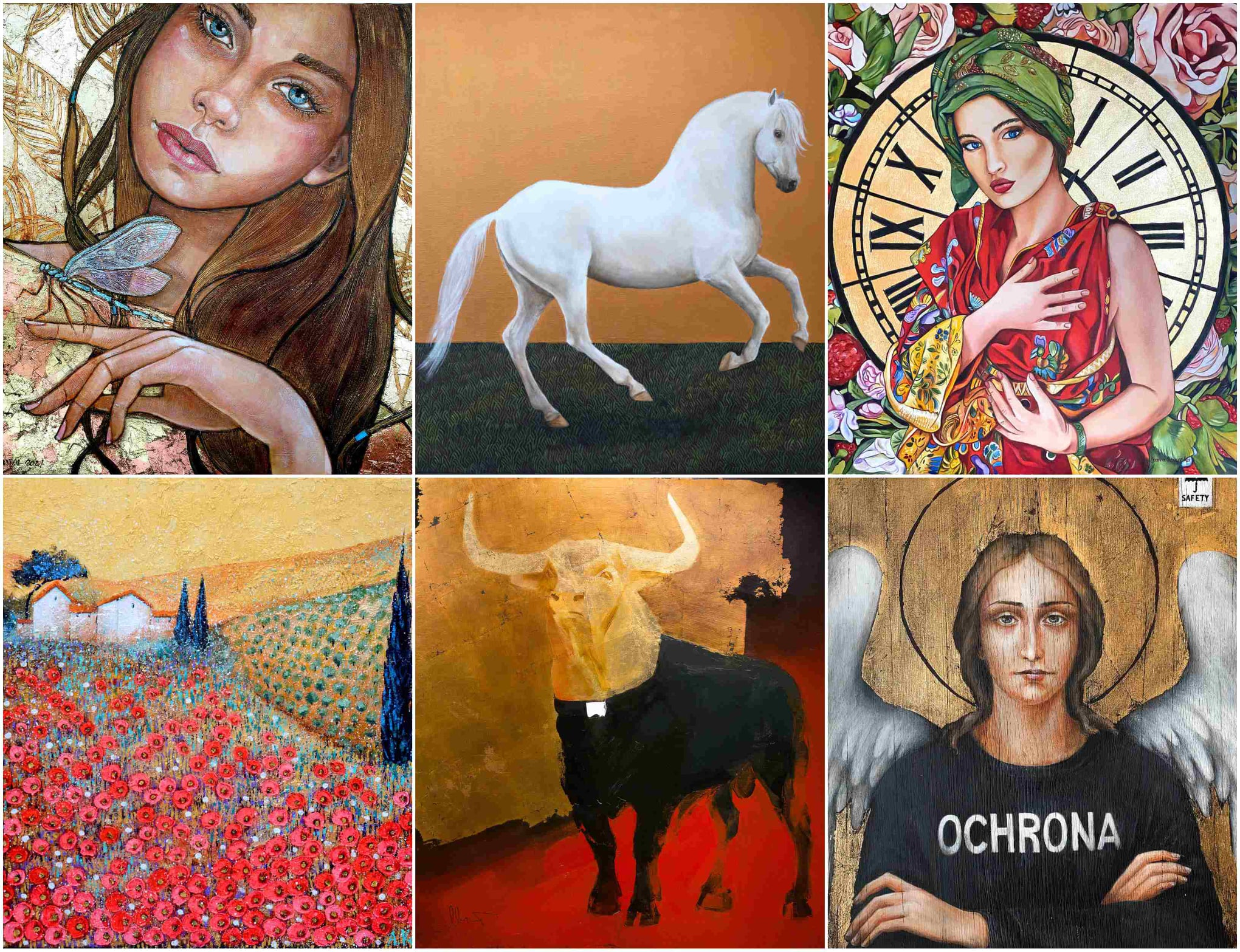 1st Auction 'Art more worth than gold' – already in February!
